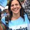 Logo Silvia Saravia, Coordinadora de Barrios de Pie