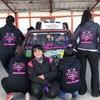 Logo Melinka Team, el equipo femenino más austral del automovilismo argentino