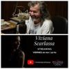 Logo Viviana Scarlassa con Luis Tarantino en El Arranque