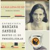 Logo Mariana Sández presentación Una casa llena de gente