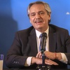 Logo Alberto Fernández en Mañana Sylvestre, primera entrevista del año