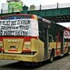 Logo #Linea60 Trabajadores se movilizan @llevalopuesto @fmlatribu