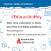 """Logo Braginski de Clarín: """"En el debate, los candidatos demostraron que no les importa la educación"""""""
