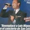 Logo ANDRES REY (doble de Luis Miguel)