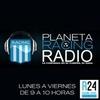 Logo Edición del 1 de Octubre - Planeta Racing por Radio Gama y Racing 24