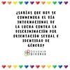 Logo Día Internacional de Lucha contra la Discriminación por Orientación Sexual e Identidad de Género
