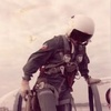 Logo Carlos Cachón Aviador Argentino que encabezó la Misión que hundió el Buque Sir Galahaad.