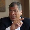 """Logo Rafael Correa: """"Lo que pasó con los Fernández y con Kicillof es un vendaval de esperanzas"""""""