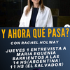Logo Y ahora que Pasa? Dra. Maria Eugenia Barrientos, medica, virologa #Covid19   El Covid 2 no mata