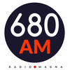 Logo Programa: Cosa de Locos AM 680. Carna Crivelli y Anita Murature