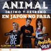 "Logo A.N.I.M.A.L en fm rock and pop programa ""En japon no pasa"""