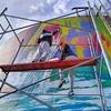 Logo Artistas pintan tanques de SP