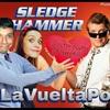 Logo Sledge Hammer (Martillo Hammer) con Hector Rossi en la Vuelta Pop (01/06/2016)