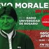 Logo Entrevista a Evo Morales