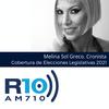 Logo Cobertura Elecciones 2021 RADIO 10.