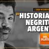 """Logo """"Historia de la negritud en Argentina"""" Por: Sergio Wischñevsky - Radio del Plata"""