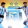 Logo volvio Dios y se armó el debate Messi // Maradona