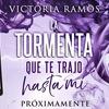 """Logo ENTREVISTA EN RADIO CANTILO- VICTORIA RAMOS, AUTORA DE """"LA TORMENTA QUE TE TRAJO HASTA MÍ"""""""