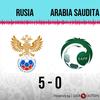 Logo Gol de Rusia: Rusia 5 - Arabia Saudita 0 - Relato de @Radio Punto