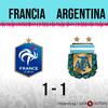 Logo Gol de Argentina: Francia 1 - Argentina 1 - Relato de @oriental770