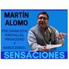 Logo #Psicosensaciones con Lic. Martin Alomo