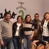 """Logo Las candidatas Gisele Alessi y Laura Garibaldi participando en """"Voces del pensamiento"""" en radioA"""