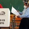 Logo Elecciones en Perú y Ecuador | Informe de Leila Bitar