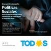 """Logo #PolíticasSociales: """"Hace falta intervenir directamente para recomponer el tejido social"""""""