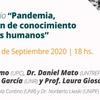 """Logo Veronica Cruz: """"la pandemia visibiliza la desigualdad"""""""