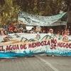 Logo Comunicación con una asamblea de Mendoza por la ley del agua del territorio