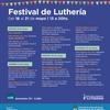 Logo Festival de Luthería en el CFK. Virginia Mosquera trae sus instrumentos.