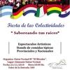 """Logo Fiesta de las colectividades """"Saboreando tus raíces"""""""