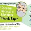 """Logo Se entregan los premios del 1er Certamen Nacional de Literatura """"Osvaldo Bayer"""""""