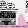 Logo [NOTA] Vivi Pozzebón y Karol sobre el show de Tamboreras + Xabier Diaz