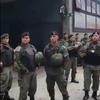 Logo Gendarmería militariza cuadra de Once por conflicto en OCA