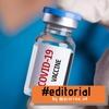"""Logo Editorial """"A la campaña, con vacuna"""""""