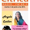 Logo Ányela Cuéllar en radio Cítrica