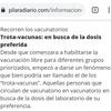 Logo Los trota-vacunas en Pilar