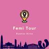 Logo Femitour Buenos Aires en FM Oktubre