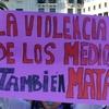 Logo Polifonías Feministas #8 Violencia Mediática