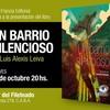 Logo Un Barrio Silencioso, de Luis Alexis Leiva