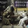 """Logo """"Medicina música es, acompañamiento filosófico"""""""