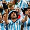 Logo Alejandro Mangiaterra gritó el gol que le dará la victoria a la Selección Argentina frente a Ecuador