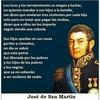 """Logo Don José de San Martín: """"¡seamos libres que lo demás no importa nada!"""""""