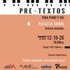 Logo Victor Hugo Morales recita un poema de Natalia Sordi y anuncia su presentación en el ciclo Pretextos
