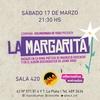 Logo LA MARGARITA, una obra para no enloquecer