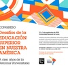 """Logo Congreso """"Desafíos de la Educación Superior en Nuestra América"""" en @UNLaOficial"""