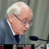 Logo Eco de Radio entrevista con el Dr. Julio Neffa. ECO DE RADIO