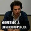 Logo Federico Montero, de CONADU y  el  I° Congreso Internacional: La Universidad como derecho.