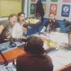 Logo En radio la Red nos cagamo todo de risso durante el discurso con lag de Cristina